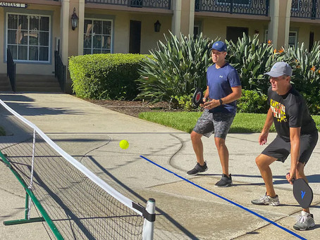 "[8/9/20] ""For NBA refs in the bubble, pickleball is an obsession..."""