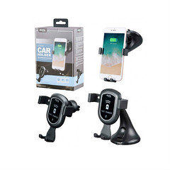 MTK car holder & wireless charger AT906