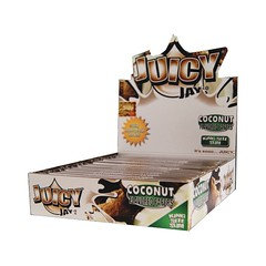 Juicy Jays King Size Slim Rolling Paper Coconut