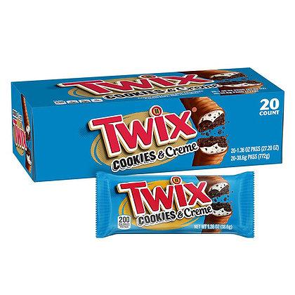Twix Cookies & Creme 38.6g x 20