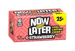 Now and Later Chewy Strawberry 26g 24 Pack