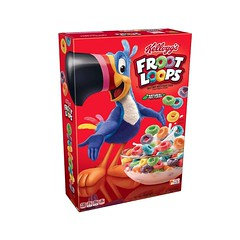 Kellogg's Froot Loops natural Fruit Flavour 286g
