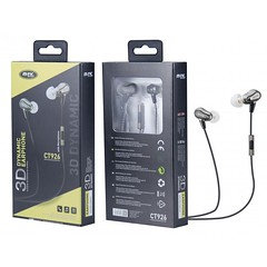 CT926 GR 3D Dynamin Eris Earphone with Microhpone with 1.2M Cable