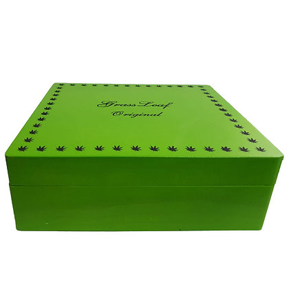 Grass Leaf Original Rolling Box Large Green