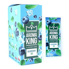Aroma King Flavour Cards Blueberry Ice 25 Pack