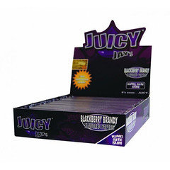 Juicy Jays King Size Slim Rolling Paper Blackberry Brandy