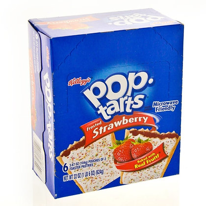 Pop Tarts Frosted Strawberry 624g