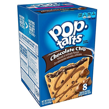 Pop Tarts Frosted Chocolate Chip 416g