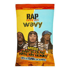Rap Snacks Bar-B-Quin with my Honey Migos 28g