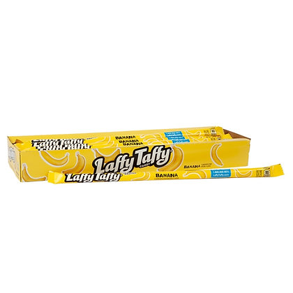 Laffy Taffy Candy Banana Rope 22.9g X 24