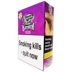 Double Platinum Blunt Wraps Purple 25 x 2 Packs