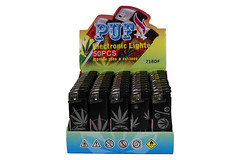 Puf Electronic Lighter 218DF 50pk