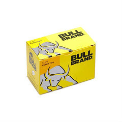 Bull brand slim filter tips x 10 boxes