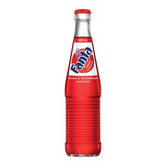 Mexican Fanta Strawberry Bottle 355ml 24 Pack