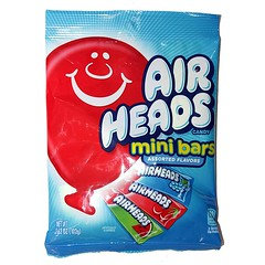 Airheads Mini Bars Assorted Flavour 119g