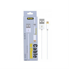 Mtk 1m Iphonr6 Cable K3018 White