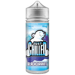 Just Chilled E-Liquid 100ml Blackcurrant
