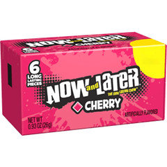 Now And Later Cherry 42g 24 Pack