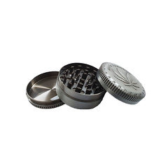 3 Part Gunmetal Grey Metal Grinder SM 1869