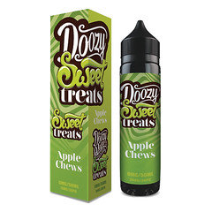 Doozy Vape Sweet Treats Apple Chews E-liquid 50ml