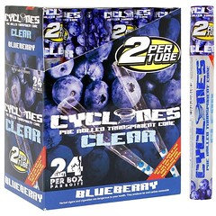 Cyclone Pre-Rolled Clear Flavoured Blueberry Cones