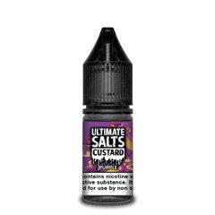 Ultimate Salts E-Liquid Custard Purple 10ml