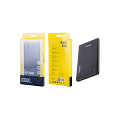 MTK 10000mah power bank K3609 black