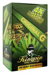 Kingpin Hemp Blunt Wraps Original G