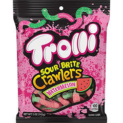 Trolli Sour Brite Crawlers Watermelon 142g