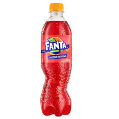 EU Fanta Strawberry Bottles 390ml 12 Pack