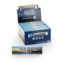 Element Blue Ultra Thin Connoisseur Rolling Paper & Tips 24 Per Box