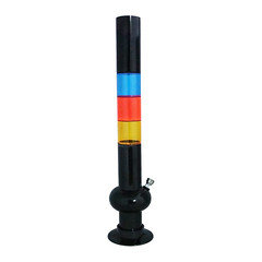 Acrylic Waterpipe Multicolour Approx 18 inches SM001-0021