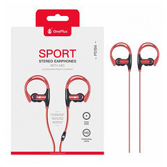OnePlus Sport Stereo Earphone With MIC P5184 (Red)