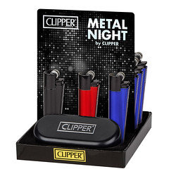 Clipper Metal Night Lighters 12 Pack