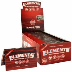 Element Red Single Wide Rolling Paper 25 Per Box