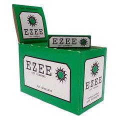 Ezee Green Standard Rolling Paper 100 Per Box