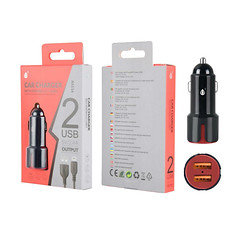 Oneplus 2usb car charger A6116 Red
