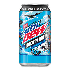 Mountain Dew Liberty Brew 355ml Can 12 Pack
