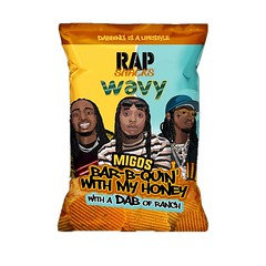 Rap Snacks Migos Barb-B-Quin with my Honey Chips 28g