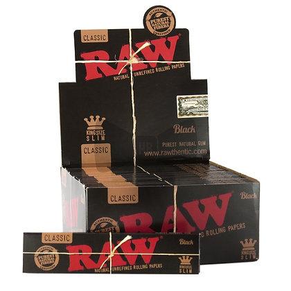 Raw Black King Size Paper