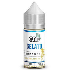 CBDfx Terpenes Gelato 30ML 250mg