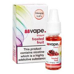 88 Vape E-Liquid Frosted Fruit 16mg 1.6% 10ml