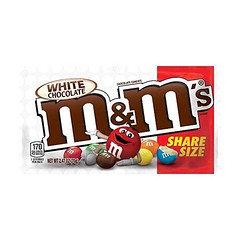 M&M Share Whitechocolate 70g  24 Pack