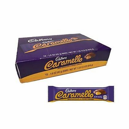 Cadbury Caramello Milk Chocolate 45g X 18