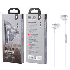 OnePlus Stereo Earphone With Microphones C2952 (Silver)