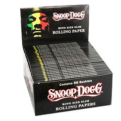 Snoop Dogg King Size Rolling Paper 50 Per Box