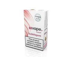 88 Vape E-Liquid Bubblegum 11mg 1.1% 10ml 20 Pack