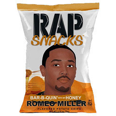 Rap Snacks Bar-B-Quin Romeo Miller 78g