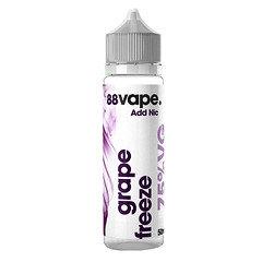 88 Vape E-Liquid Grape Freeze 50ml