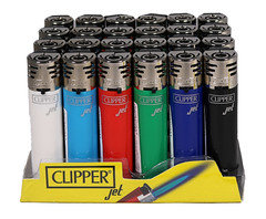 Clipper Jet Lighters 24 pack